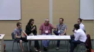 "WGK 2012 – Discussion Panel ""Coming out of the garage or first steps in commercial gamedev"""