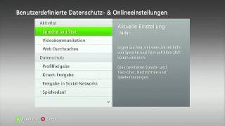 How to Hide your Friendslist on Xbox [2012] German & English