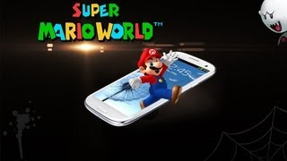 Super Mario World on Samsung Galaxy S3!
