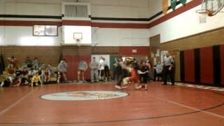 Isaiahs second match March 6, 2012
