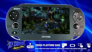 Sly Cooper: Thieves in Time – PlayStation Vita Features Trailer