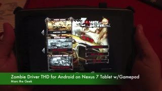 Zombie Driver THD for Android on Nexus 7 Tablet w/ Gamepad