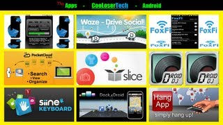 #108 Top 10 Android APPS &#8211; Best of The Week &#8211; The Cloud Siine Waze 2012