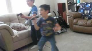 Kids being Kids – Lego Rock Band
