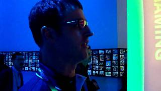 """New XBOX """"game room"""" service demo from CES 2010"""