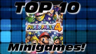 Mario Party &#8211; Top 10 Mario Party 4 Minigames!